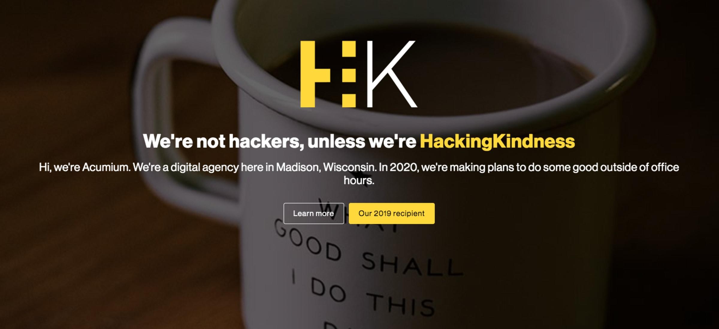 HackingKindness 2020