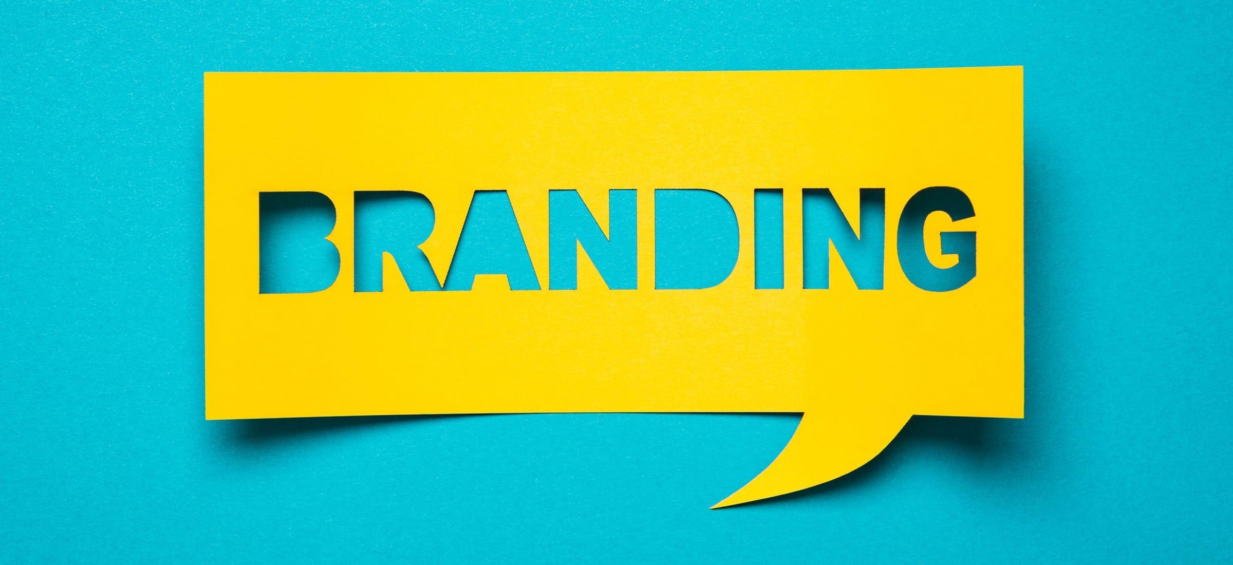 branding speech bubble