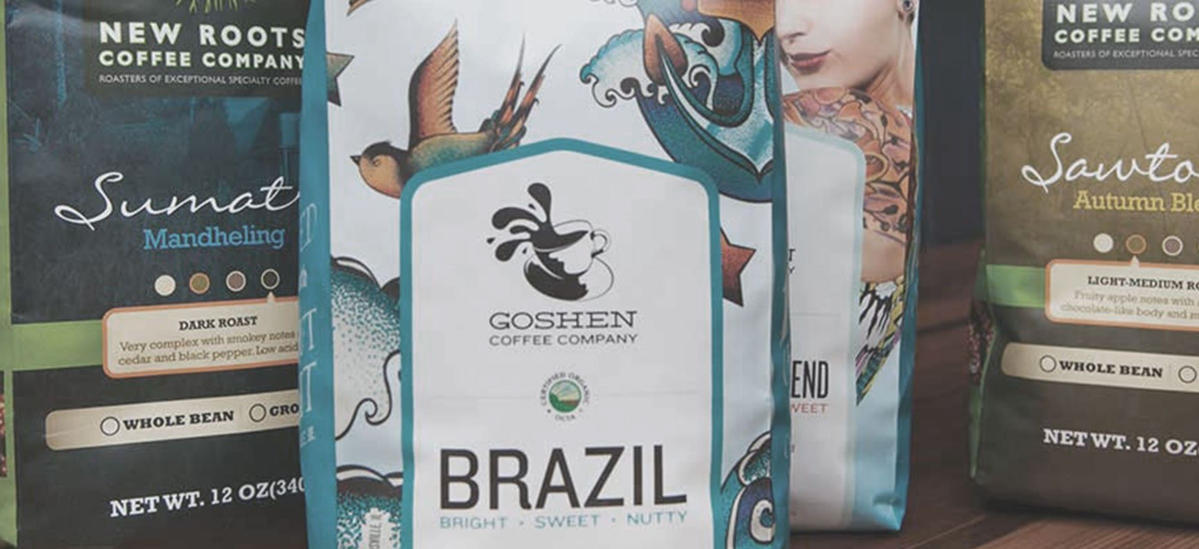Roastar Coffee Bags Goshen Coffee Company New Roots Coffee Company