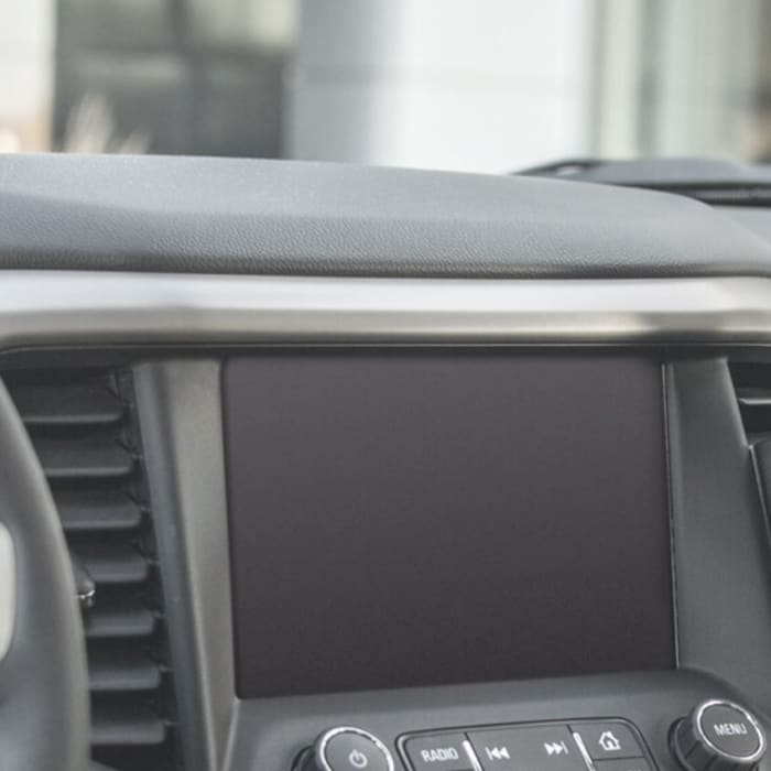 Photo- ProClip phone mount on a car dash