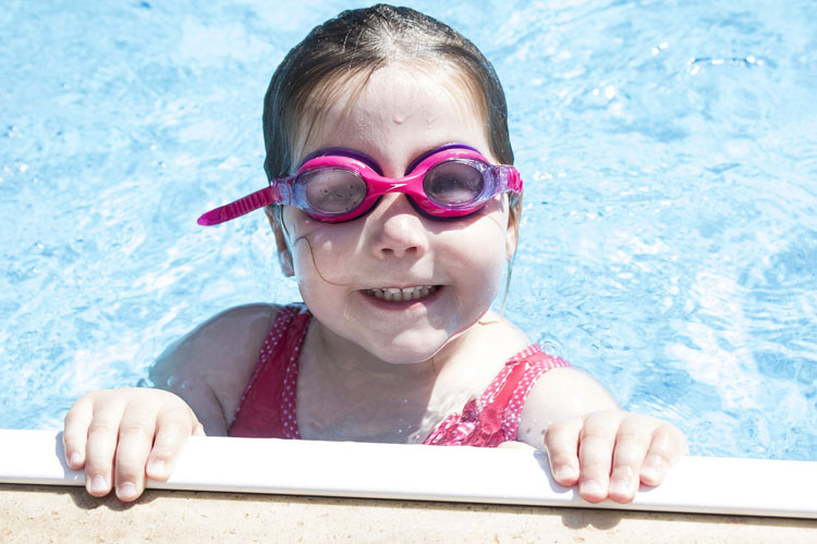 Swimming is good for kids