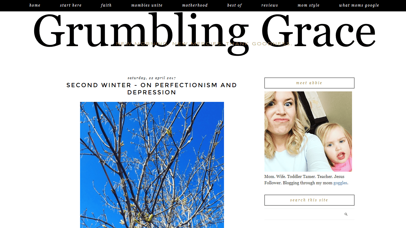 Grumbling Grace