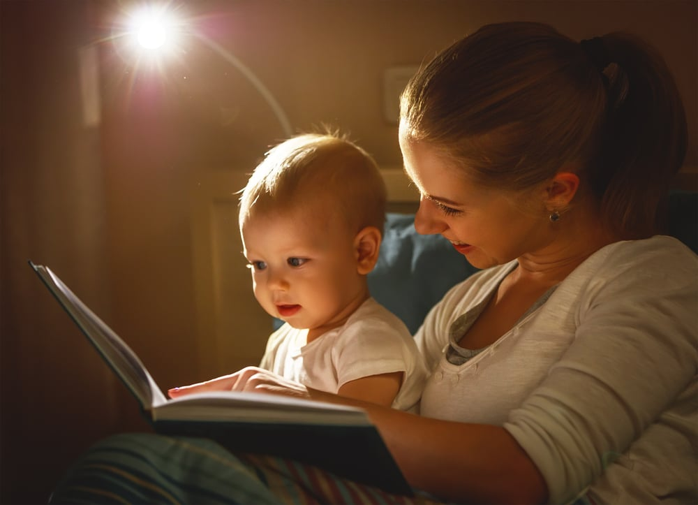 Read a book before your child go to bed