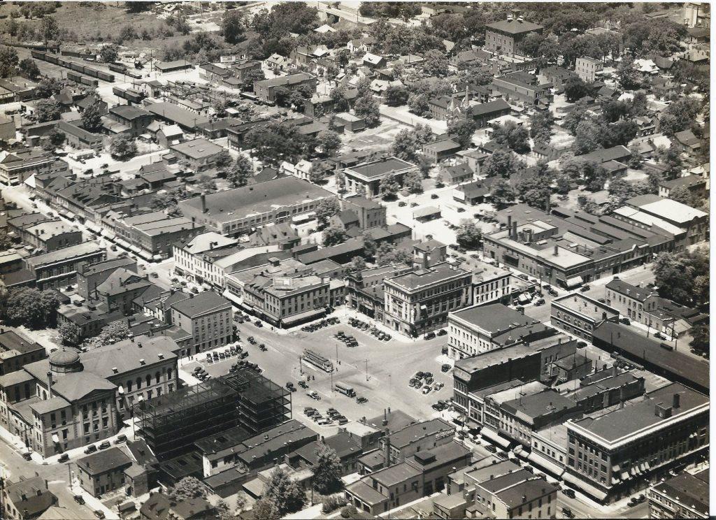 Public Square, Belleville, 1929