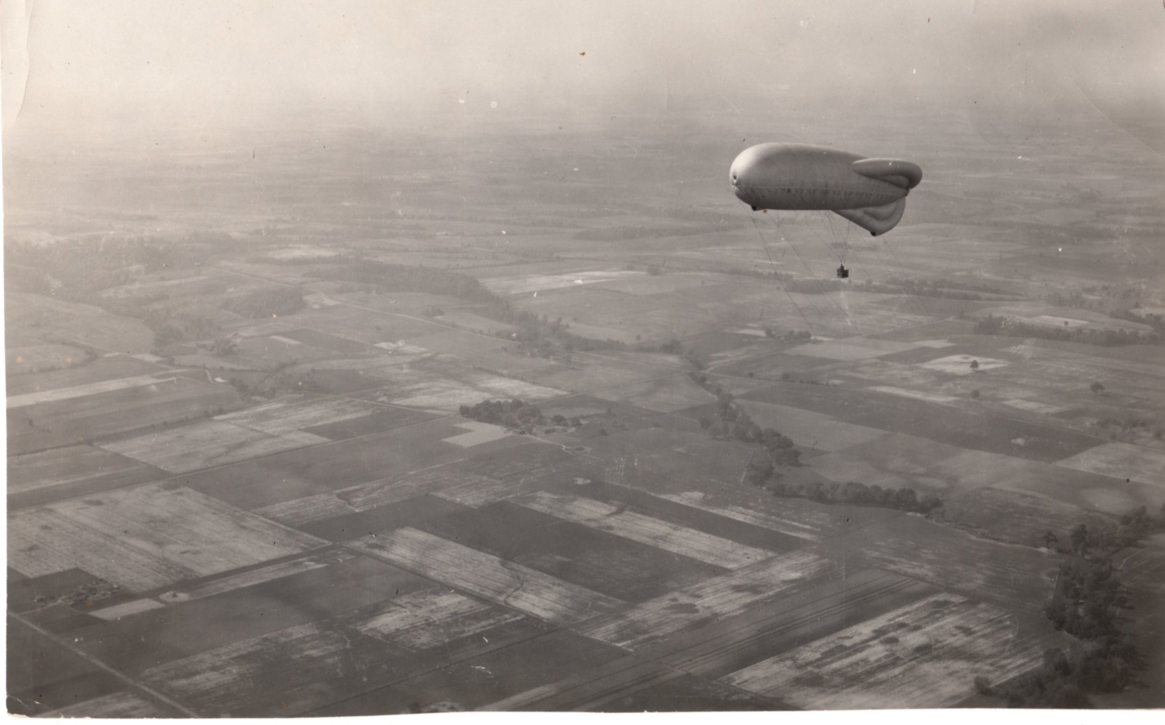 Observation Balloon, Scott Field, 1925