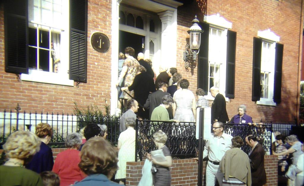 Victorian House Museum Opening Day, 1968