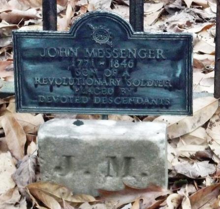 John Messenger Gravestone