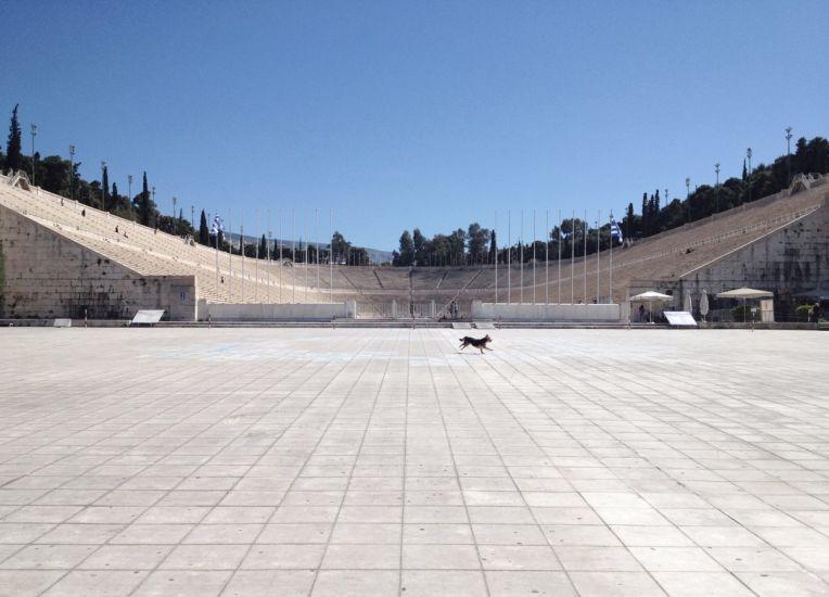 En mouvement. Athènes, Grèce. 2015