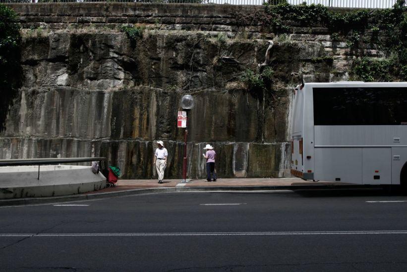 Les touristes. Sydney, Australie. 2011