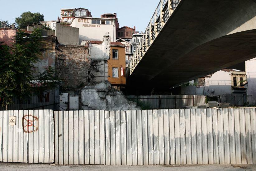Le passage. Istanbul, Turquie. 2015