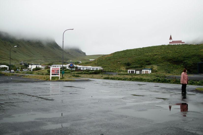 L'enrhumée. Vik, Islande. 2013
