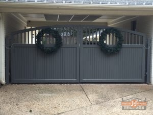 Wooden Gates can be Painted or Stained to Suit Your Style, but Require Regular Maintenance