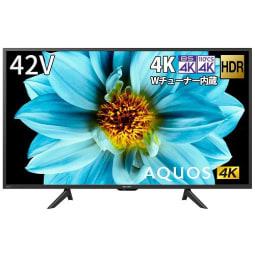 【シャープ 】4T-C42DJ1 アクオス DJ1シリーズ 42V型 BS/CS 4K内蔵液晶テレビ