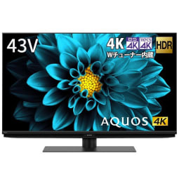 【シャープ】4T-C43DL1 AQUOS(アクオス) DL1シリーズ 43V型 BS/CS 4K内蔵液晶テレビ