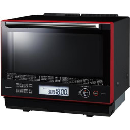 【東芝】ER-WD3000(R) 過熱水蒸気オーブンレンジ 石窯ドーム グランレッド