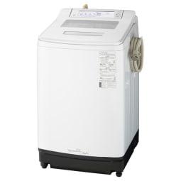 【標準設置対応付】パナソニック NA-JFA808-W 全自動洗濯機 8Kg クリスタルホワイト