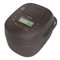 【パナソニック 】SR-MPA101-T 可変圧力IHジャー炊飯器 5.5合炊き おどり炊き ブラウン