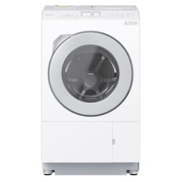 【標準設置対応付】パナソニック NA-LX125AR-W ななめドラム洗濯乾燥機 右開き マットホワイト