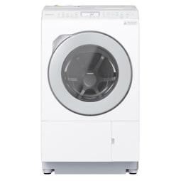 【標準設置対応付】パナソニック NA-LX127AR-W ななめドラム洗濯乾燥機 右開き マットホワイト