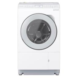 【標準設置対応付】パナソニック NA-LX127AL-W ななめドラム洗濯乾燥機  左開き マットホワイト