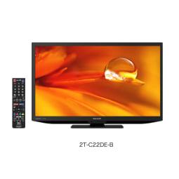 【シャープ】22型液晶テレビ 外装 縦12cm横59.2cm高さ42.3cm   ブラック
