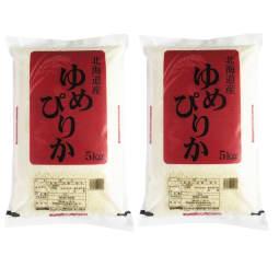 【北海道】北海道産ゆめぴりか 5kg×2セット