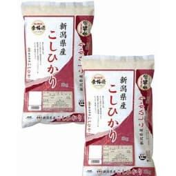 【新潟県】新潟県産こしひかり 5kg×2セット