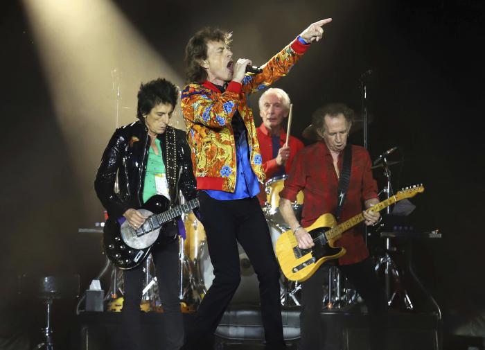 Группа The Rolling Stones опубликовала ранее не изданную песню