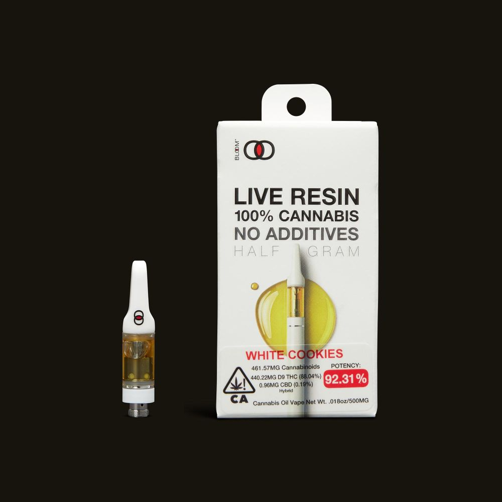 Bloom Brands White Cookies Live Resin Cartridge - .5g