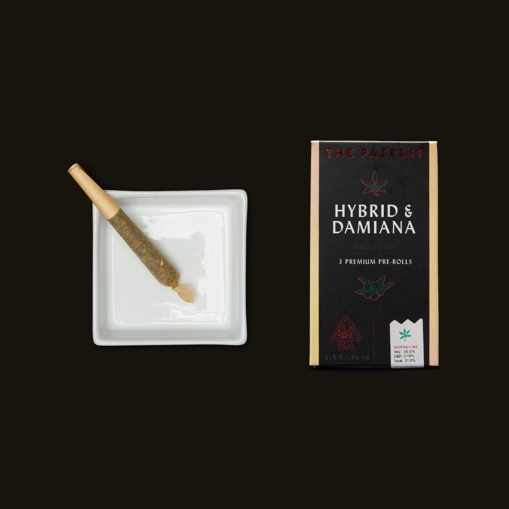 The Pairist Hybrid & Damiana Pre-Rolls