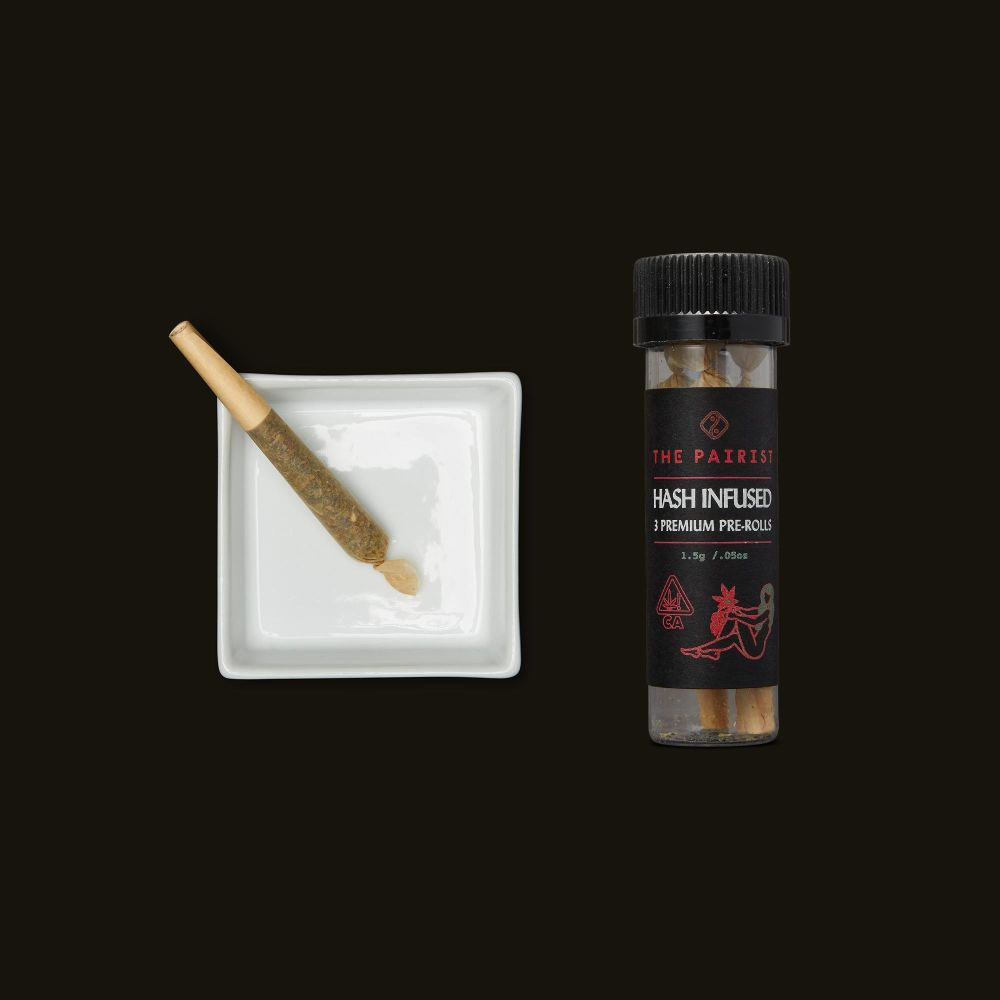 The Pairist Purple Punch Hash Infused Pre-Rolls