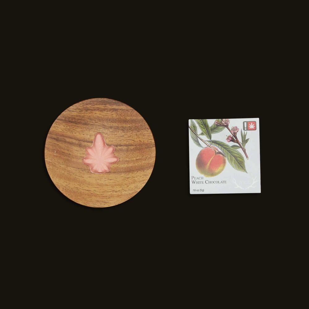 Wyld Peach Indica Enhanced White Chocolates (Single) 5mg