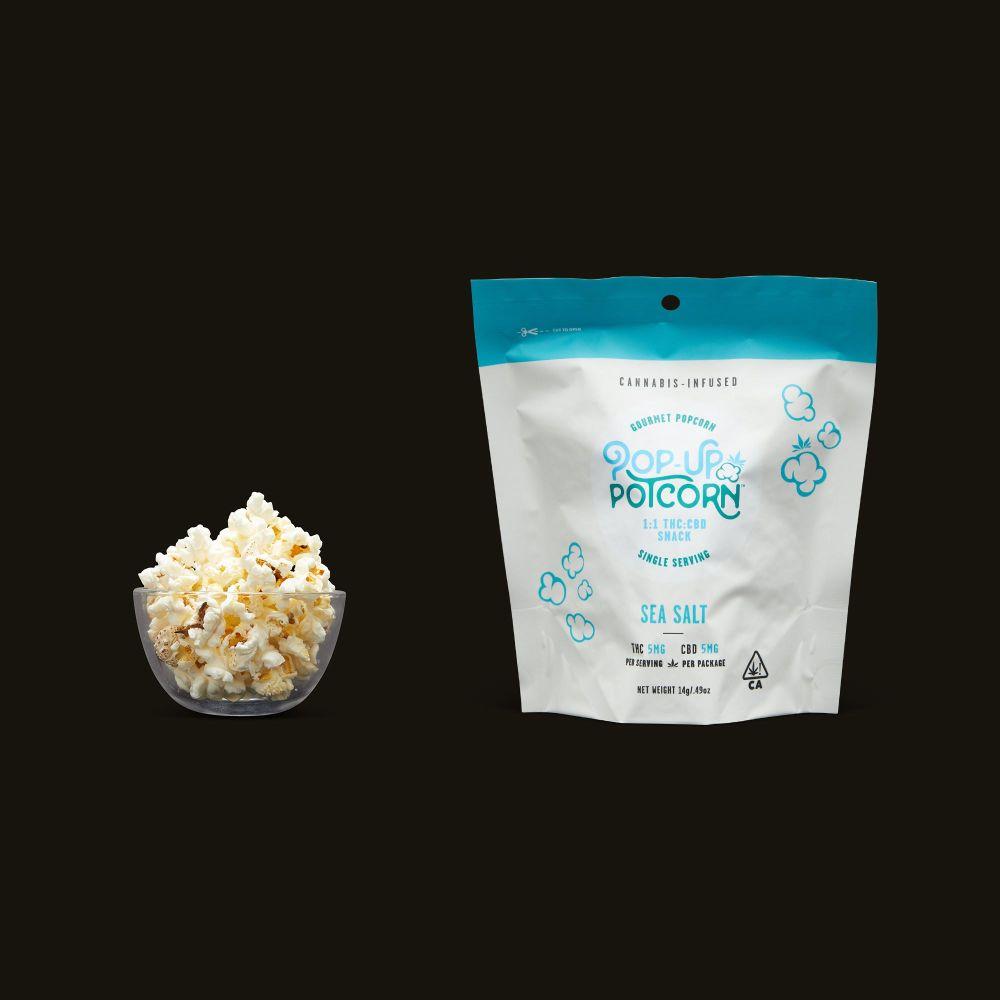 Pop-Up Potcorn Sea Salt Popcorn 1:1 - Single