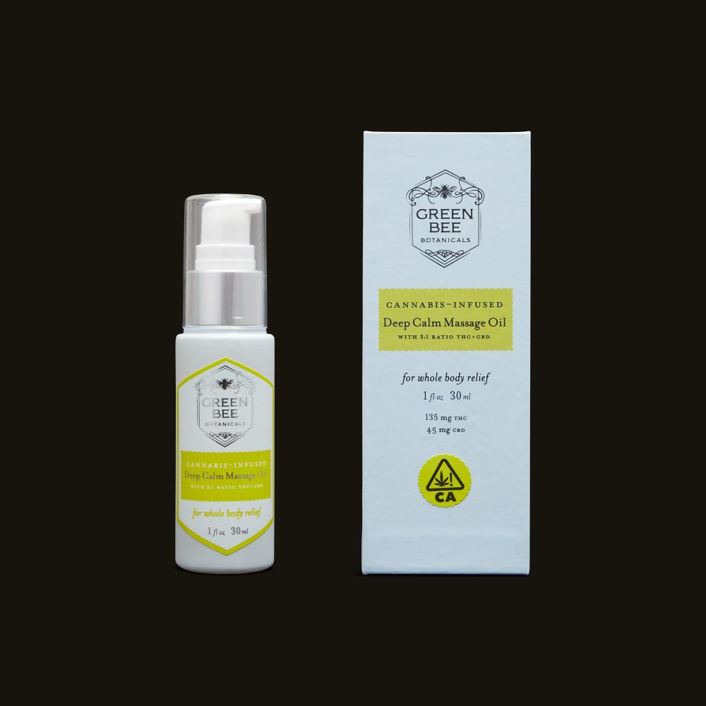 Green Bee Botanicals Deep Calm Massage and Body Oil