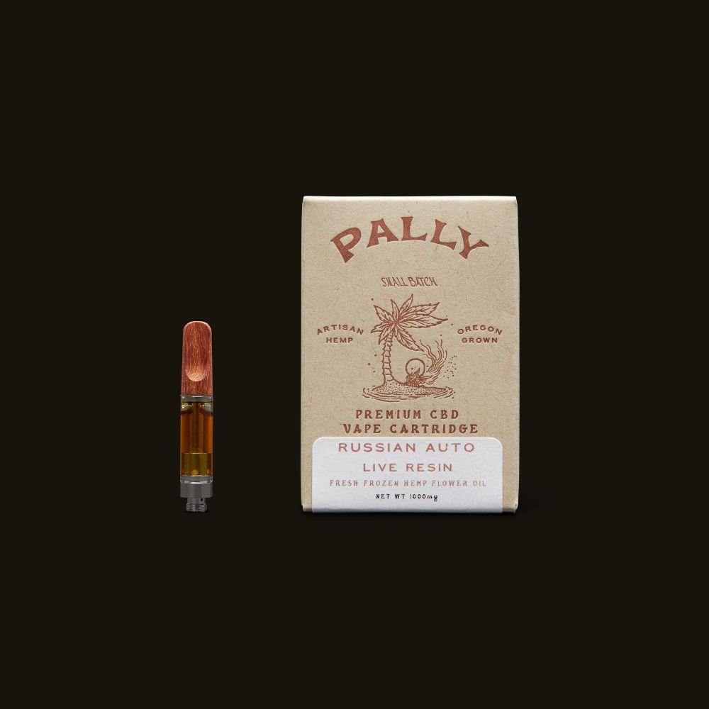 Pally Russian Automatic Live Resin CBD Cartridge - 1g