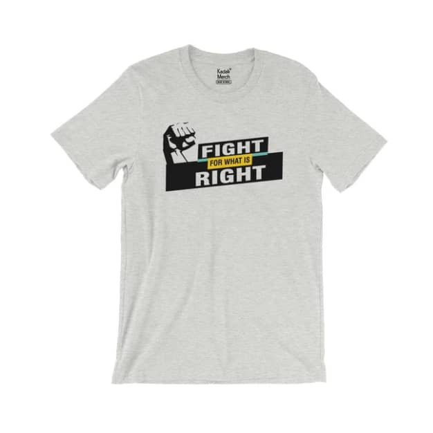 Fight for what is Right (Heather Grey)