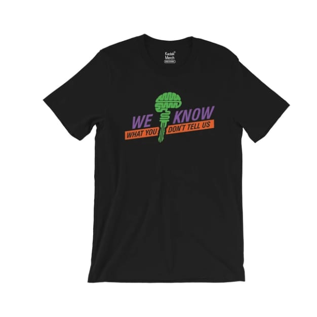 We Know Everything T-Shirt (Black)