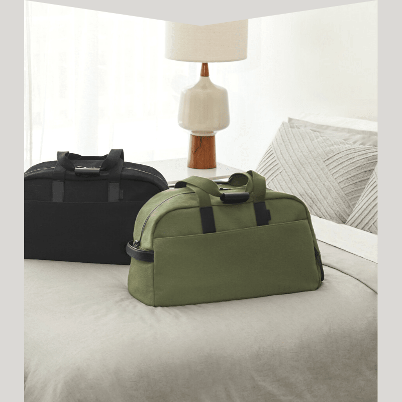 Two carry-on travel bags