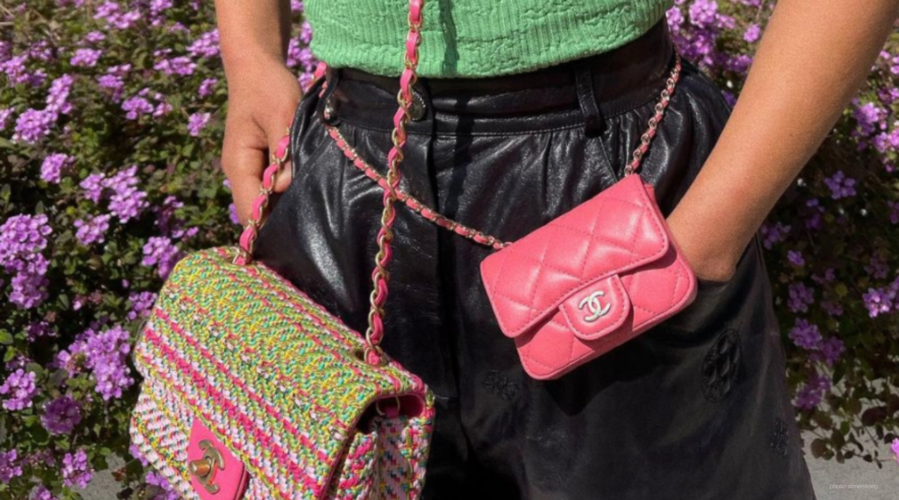 Two chanel bags