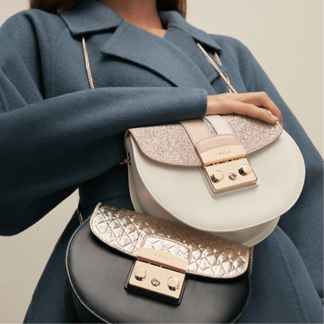 Two Furla purses