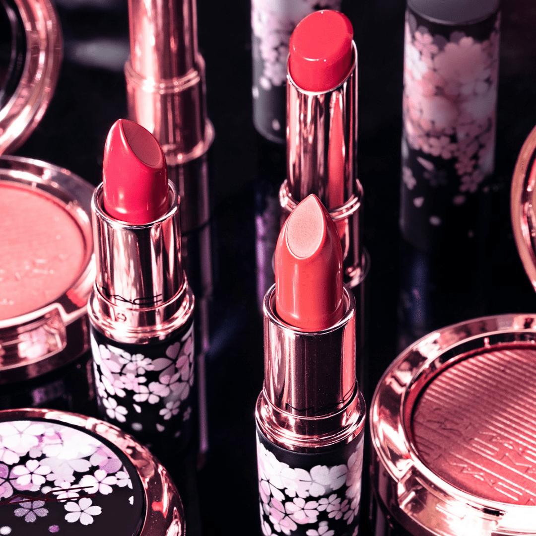 Pink mac lipsticks