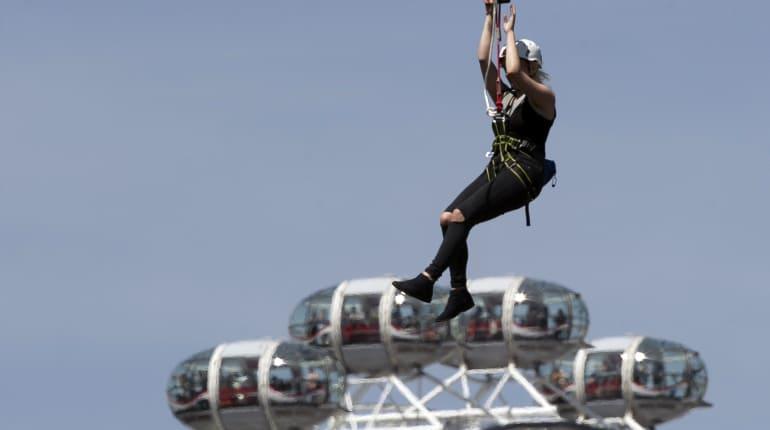Zip Line Over The London Skyline - Funzing