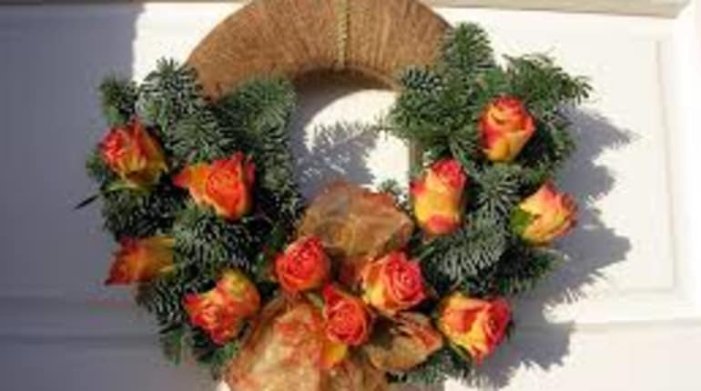 design make your own luxury christmas wreath