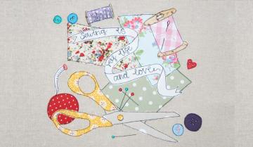 Freehand Machine Embroidery Funzing