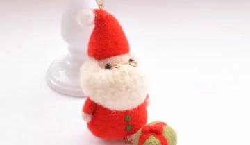 Christmas Decorations Needle Felting Workshop Funzing
