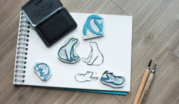learn how to design and make your own rubber stamp funzing