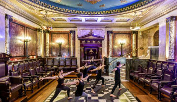 Yoga Class in the Masonic Temple - Funzing