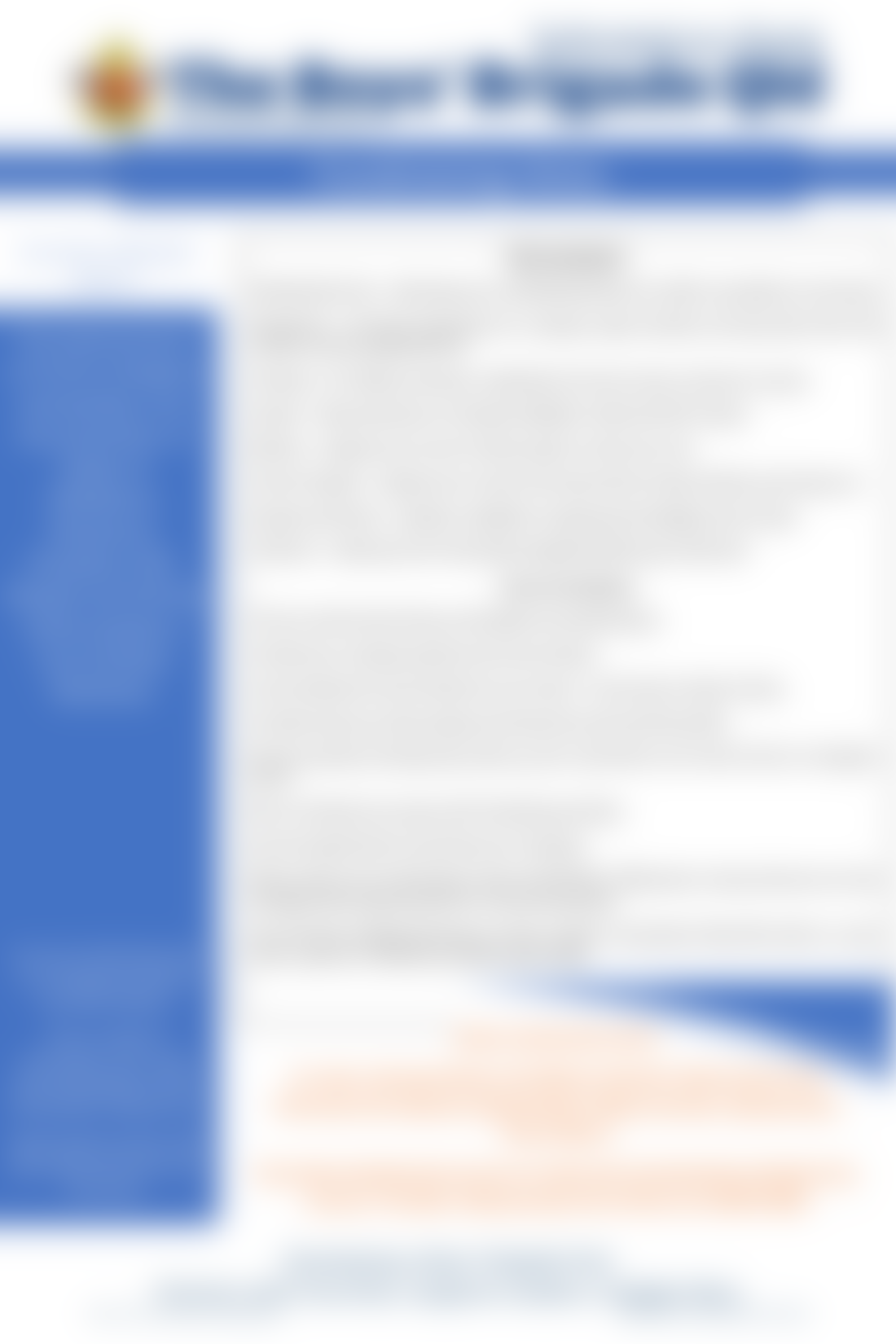 Info Sheet - Fundraising Hints 2020
