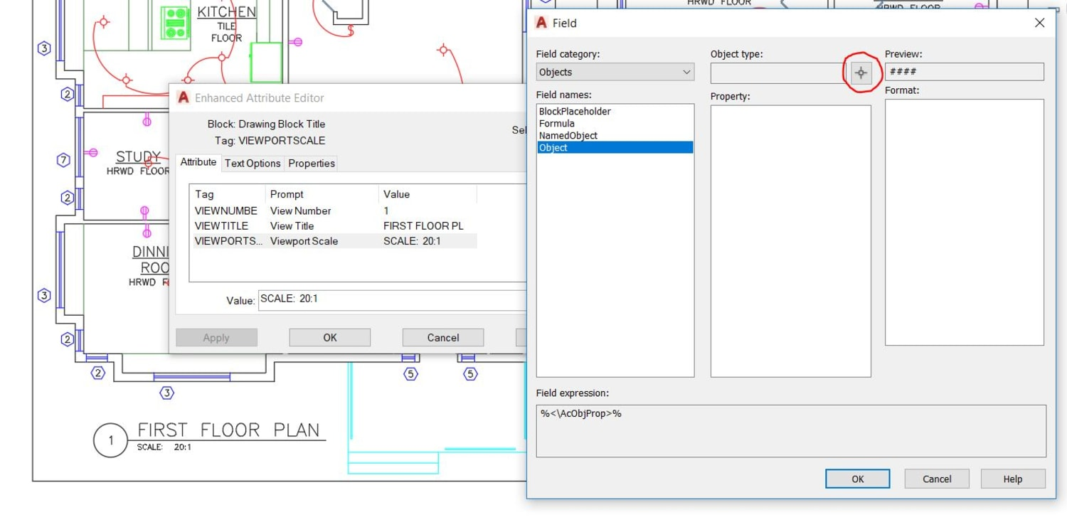 Viewport AutoCAD