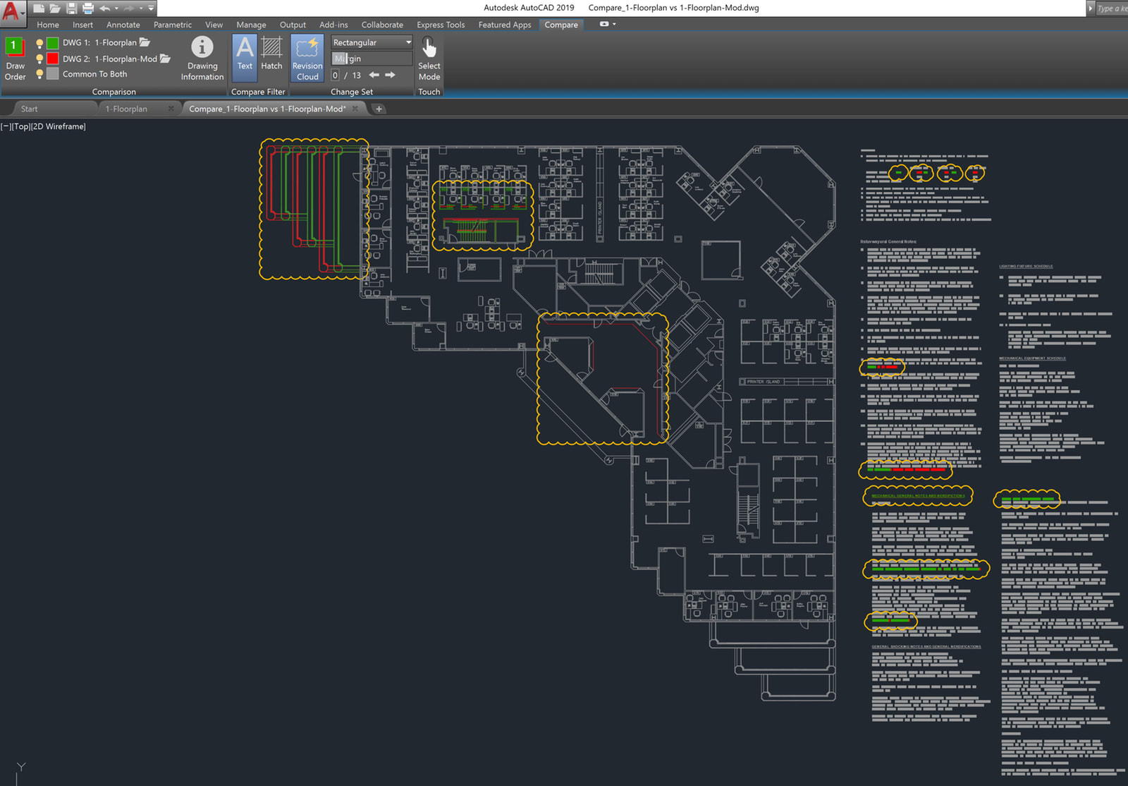 AutoCAD 2019: DWG Compare